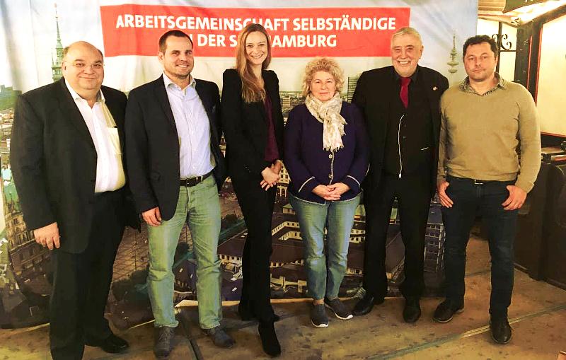 Wahl des neuen Vorstands der Arbeitsgemeinschaft Selbständige in Hamburg am 7.11.2017