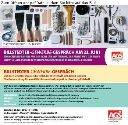 AGS Einladung zum Dinner-Talk Norddeutscher Unternehmer