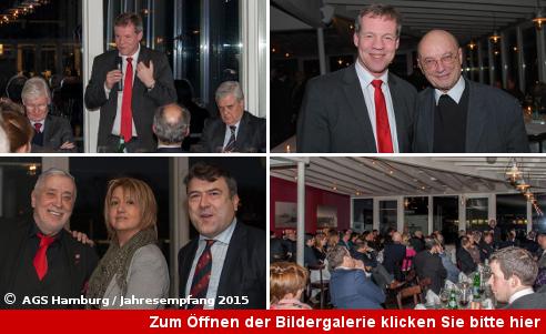 Jahresempfang der Arbeitsgemeinschaft der Selbständigen in der SPD Hamburg 2015