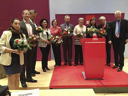 Neuer Bundesvorstand der AGS in Berlin gewählt
