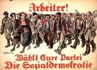 Arbeiter waehlt Eure Sozialdemokratie