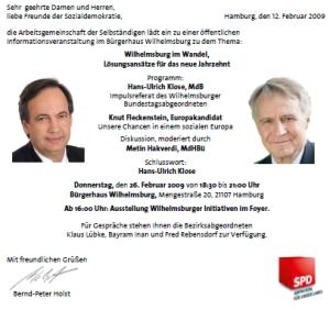 Einladung Wilhelmsburg im Wandel