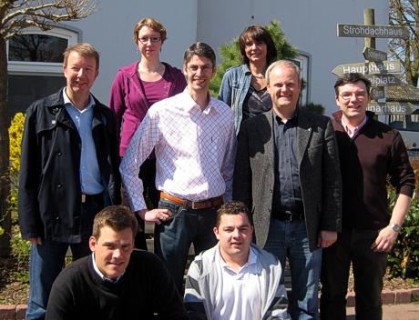 Thomas Stölting, Kerstin Gröhn, Hansjörg Schmidt, Susanne Kilgast, Dirk Sielmann, Fred Rebensdorf, Falko Droßmann, Ralf Neubauer