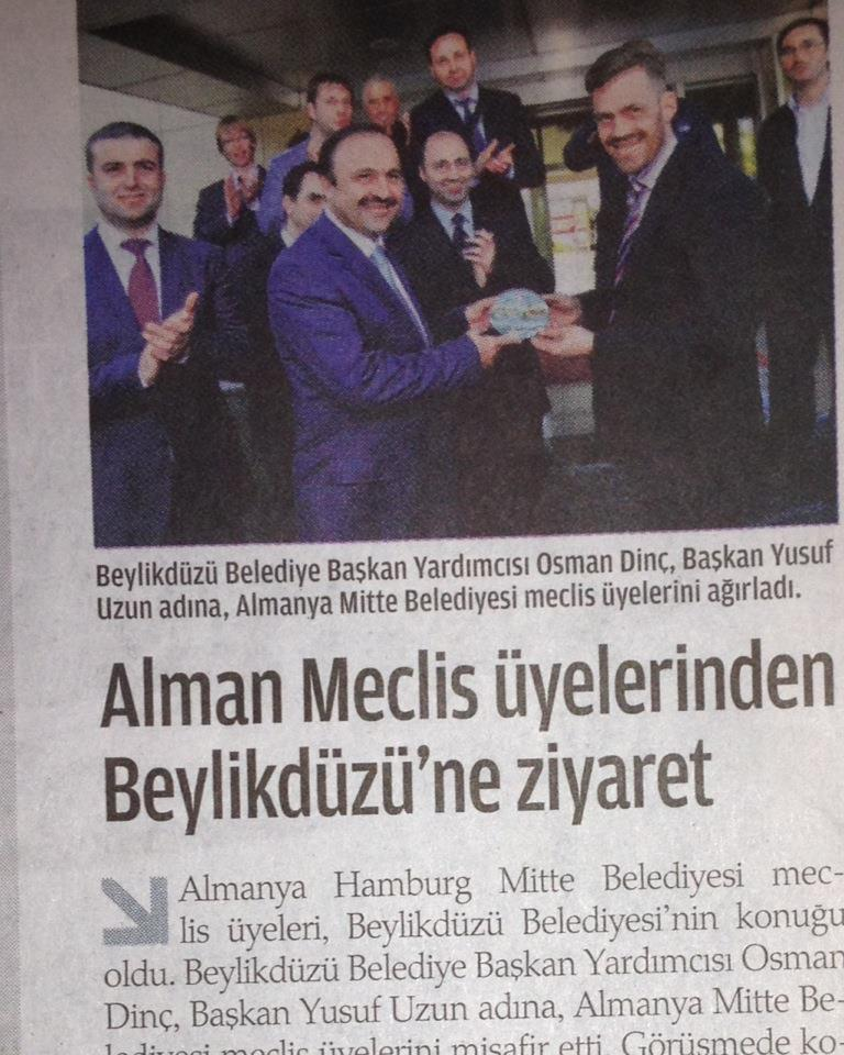 Arbeitsbesuch in Istanbul